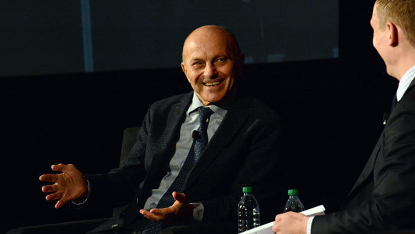Gene Fama, left, with Morningstar's passive funds research director, Ben Johns