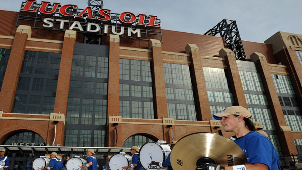 Lucas Oil Stadium downtown Indianapolis. (Photo: AP)