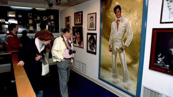 Graceland in Memphis. (Photo: AP)