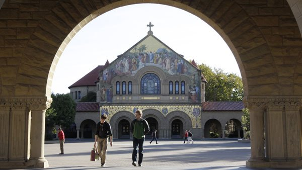 Stanford University campus. (Photo: AP)