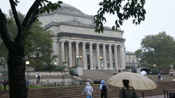Columbia University Campus. (Photo: AP)