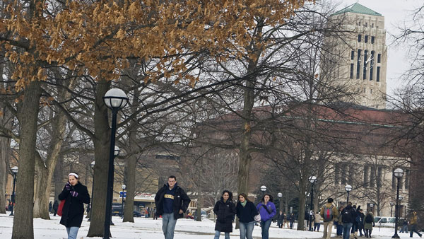 University of Michigan campus in Ann Arbor. (Photo: AP)