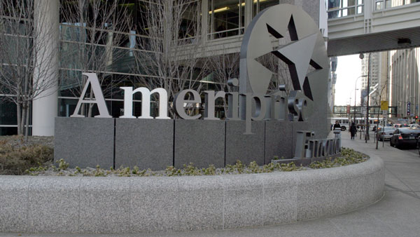 Ameriprise Financial Headquarters in Minneapolis.