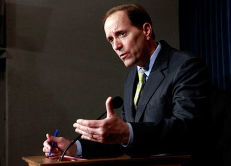 David Camp, R-Mich., is chairman of the House Ways and Means Committee. (Photo: AP)