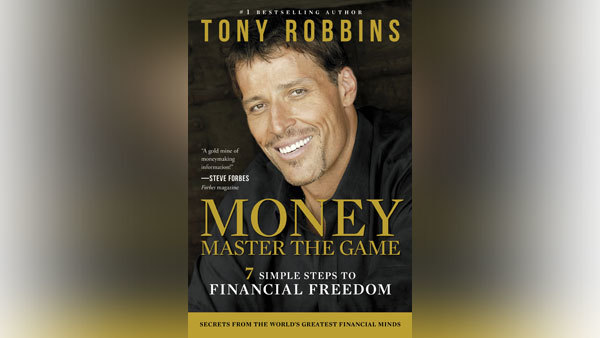 "Robbins' new book, ""Money: Master the Game."""