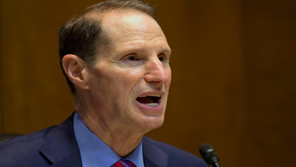 Sen. Ron Wyden says retired women are twice as likely to become poor as retired men.