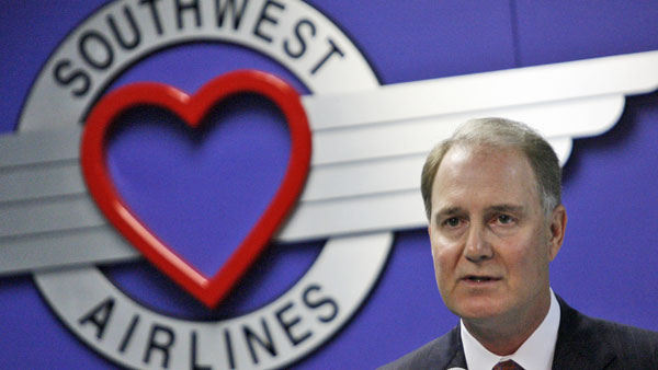 Gary Kelly, CEO of Southwest Airlines. (Photo: AP)