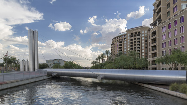 Solieri Bridge in Downtown Scottsdale.