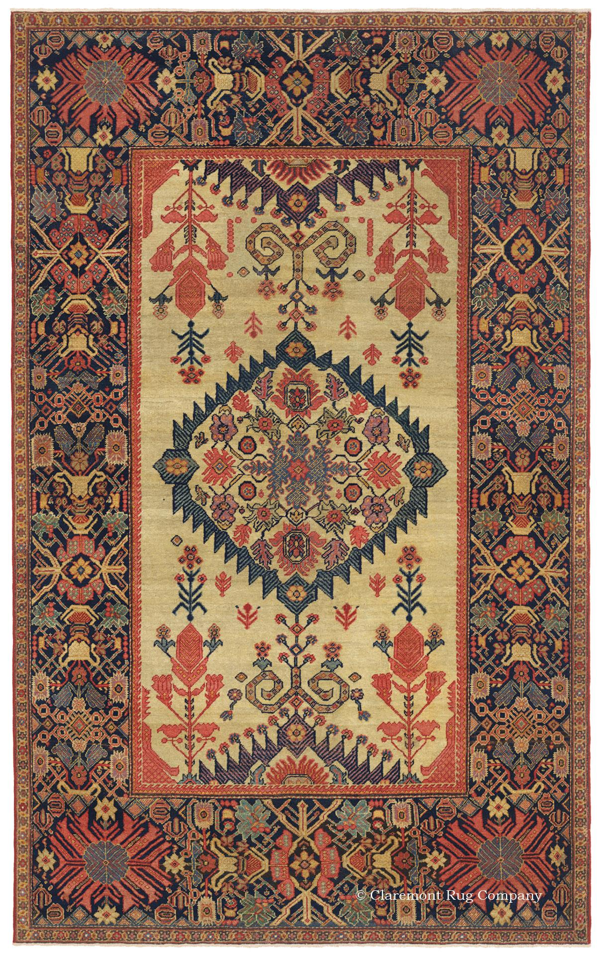 An Example Of Tier 5 Rug Ferahan Early 19th Century