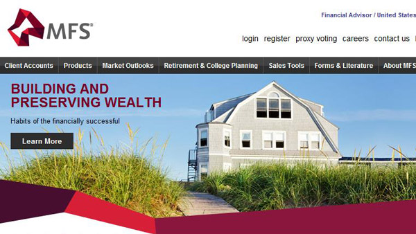 websites for financial advisors