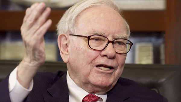 When Warren Buffet talks ... investors listen. (Photo: AP)