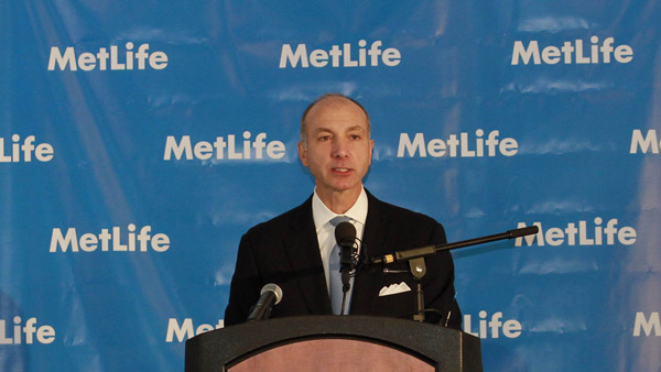 Steven Kandarian, President, Chairman and CEO of MetLife. (Photo: AP)