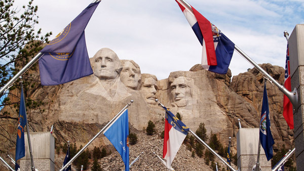 Mount Rushmore in Keystone. (Photo: AP)