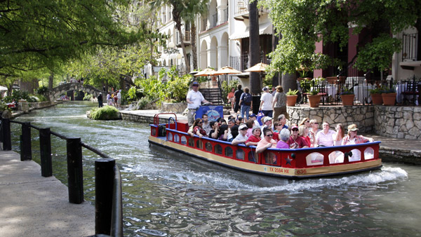 River Walk in San Antonio. (Photo: AP)