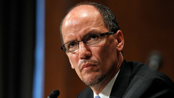 Labor Secretary Thomas Perez. (Photo: AP)