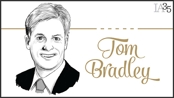 This is the fifth year Tom Bradley, TD Ameritrade's retail president, has been on the IA 25 list. (Portrait: Joel Kimmel)