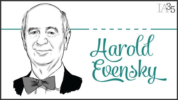 Since being named to the inaugural IA 25, Harold Evensky has been honored six times. (Portrait: Joel Kimmel)