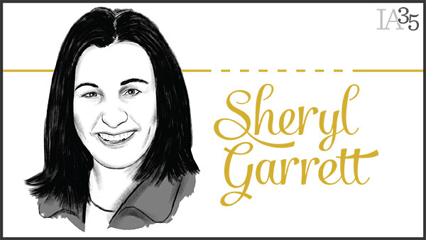 Since appearing on the inaugural IA 25 in 2003, Sheryl Garrett has been honored six times. (Portrait: Joel Kimmel)