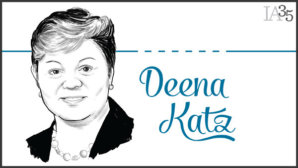 Deena Katz has been featured on the IA 25 nine times, making her one of the most frequently honored advisors on the list. (Portrait: Joel Kimmel)