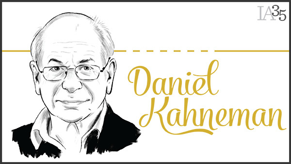 This is the first time Daniel Kahneman has been recognized on the IA 25. (Portrait: Joel Kimmel)