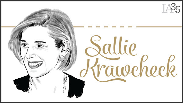 This is the fourth time Sallie Krawcheck has been honored on the IA 25, since her first appearance on the inaugural list in 2003. (Portrait: Joel Kimmel)