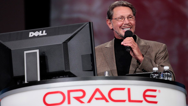 Larry Ellison, co-founder and CEO of Oracle Corp. (Photo: AP)