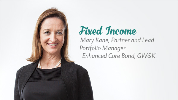 Mary Kane, Partner and Lead Portfolio Manager, Enhanced Core Bond, GW&K