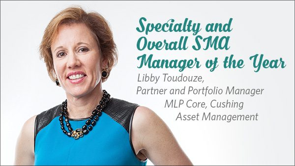 Libby Toudouze, Partner and Portfolio Manager MLP Core, Cushing Asset Management
