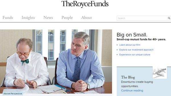 The Royce Funds Website