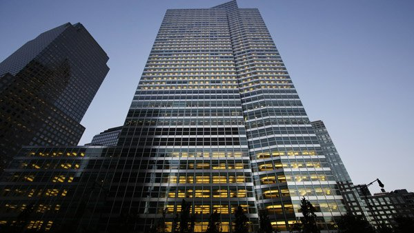 Goldman Sachs headquarters in NY. (Photo: AP)