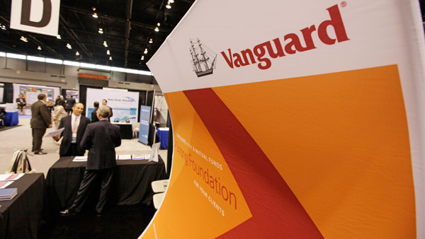 Vanguard conference sign (Photo: AP)