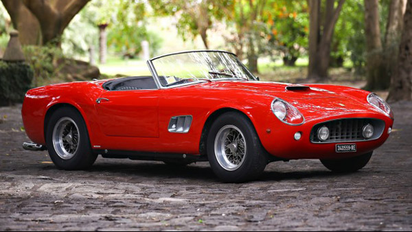 Ferrari 250 GT Spyder (by Mathiew Heurtault, courtesy of Gooding & Co.)