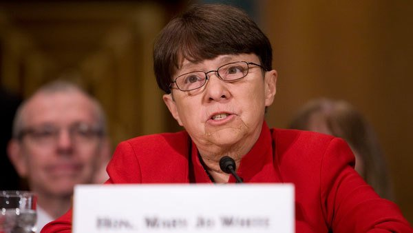 SEC Chairwoman Mary Jo White.