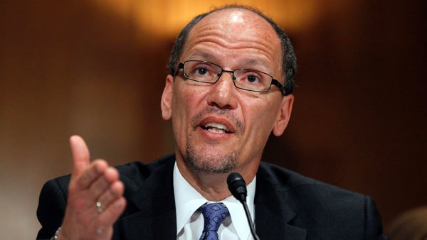 Labor Secretary Tom Perez. (Photo: AP)`
