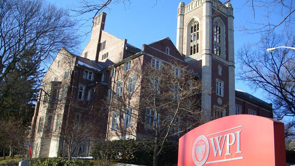Worcester Polytechnic Institute campus. (Photo: Wikimedia Commons)