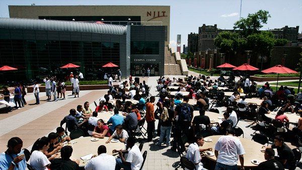 NJIT campus. (Photo: AP)