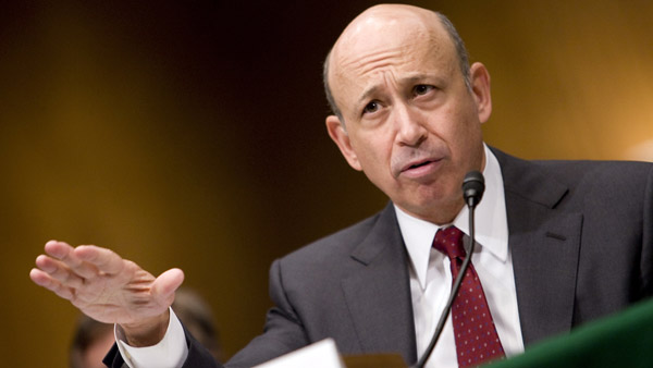 Lloyd Blankfein, CEO Goldman Sachs. (Photo: AP)
