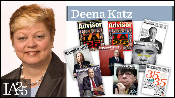 Deena Katz, Evenksy & Katz/Foldes Financial