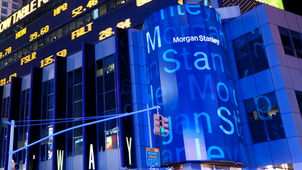 Morgan Stanley headquarters in New York.