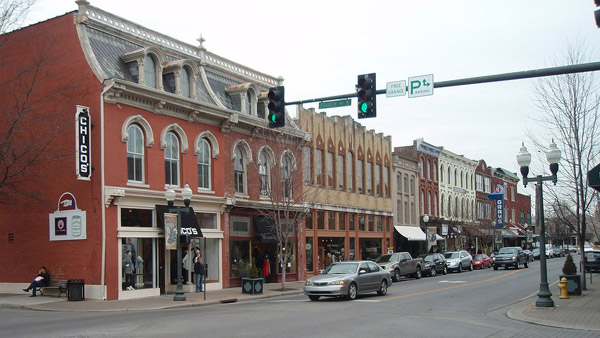 Historic Downtown Franklin. (Photo: Wikimedia Commons)