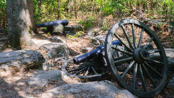 Stones River National Battlefield in Murfreesboro.