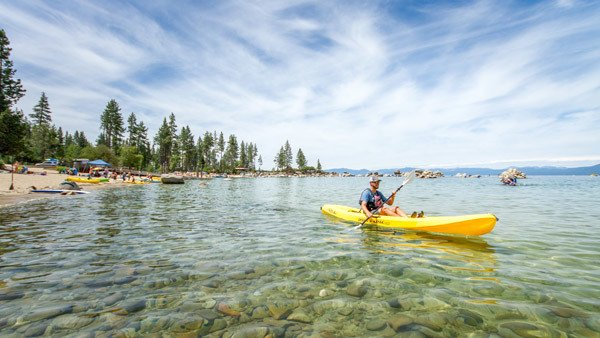 Incline, on Lake Tahoe, offers privacy for celebrities, says a real estate agent here.