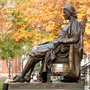 Statue of John Harvard on campus of Harvard. (Photo: ThinkStock)