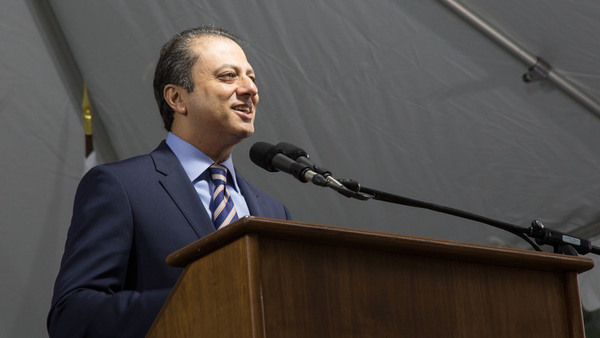 Bharara, an Obama appointee, has prosecuted many cases against the wealthy and powerful.