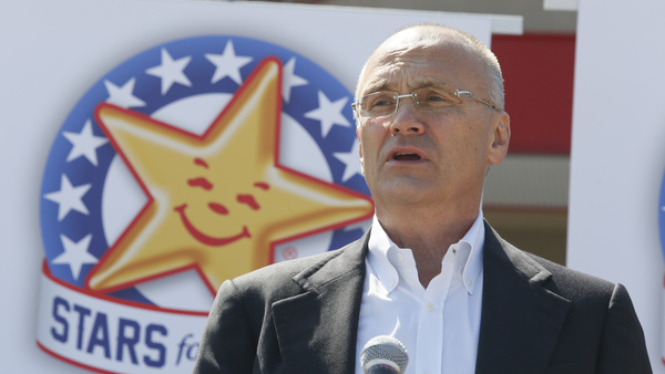 Andrew Puzder is CEO of CKE Restaurants, which owns Carl's Jr. and Hardee's. (Photo: AP)
