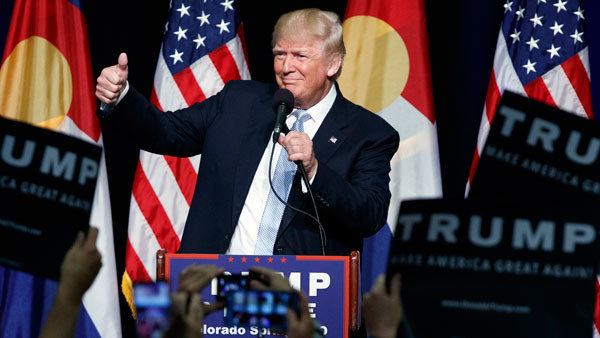 President Donald Trump during the campaign (Photo: AP)