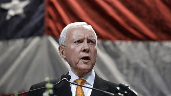 "The old rules would ""promote locking American workers in risky state-run plans,"" Hatch says. (Photo: AP)"