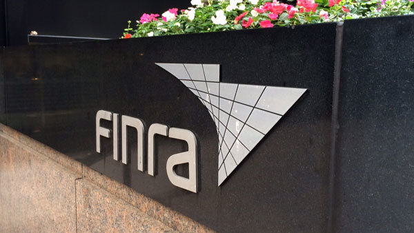 FINRA building in New York.