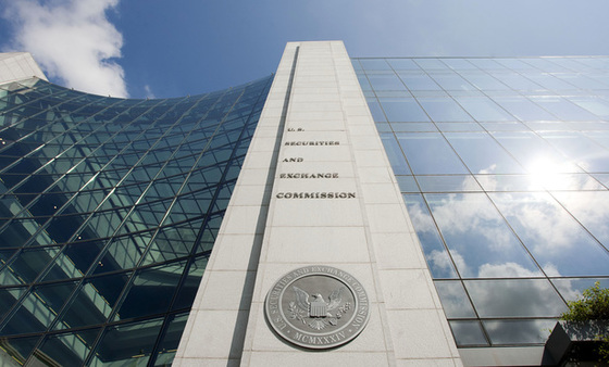 SEC chair nominee Clayton has said the Dodd-Frank Act 'should be looked at.'