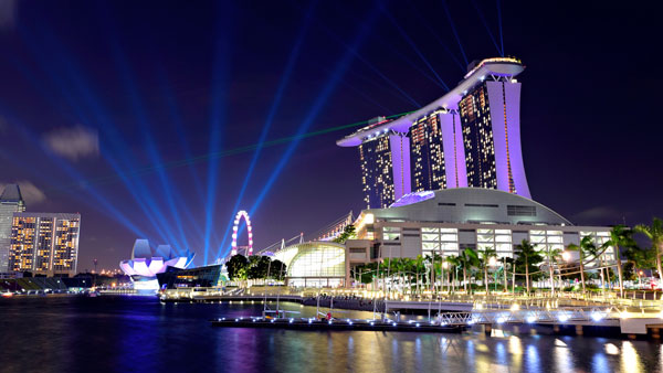 Singapore harbor (Photo: ThinkStock)